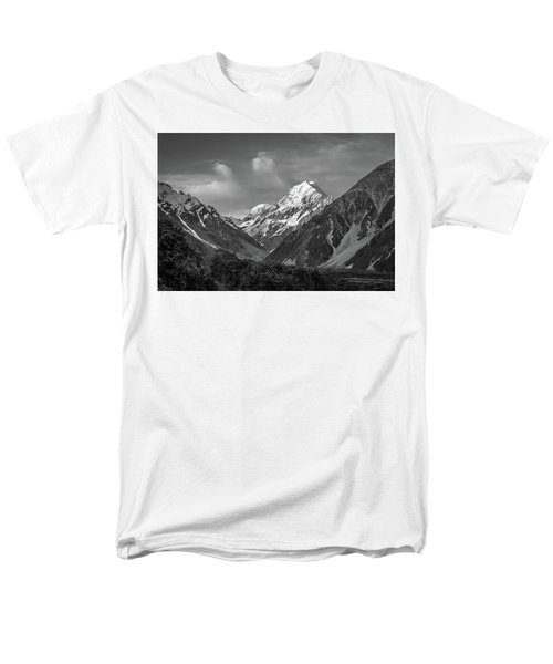 Mt Cook Wilderness Men's T-Shirt  (Regular Fit) by Racheal Christian