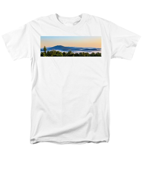 Mt. Jefferson Cloud Lake Men's T-Shirt  (Regular Fit) by Dale R Carlson