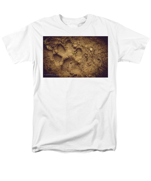 Muddy Pup Men's T-Shirt  (Regular Fit) by Stefanie Silva