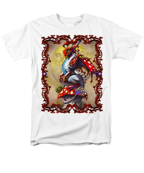 Mushroom Dragon T-shirts Men's T-Shirt  (Regular Fit) by Stanley Morrison