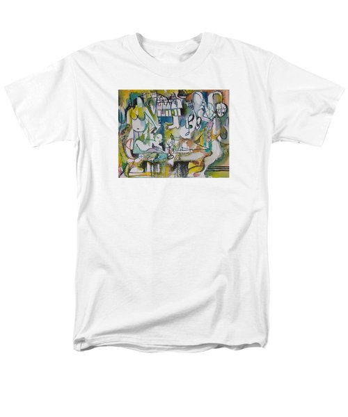 Musical Abstraction  Men's T-Shirt  (Regular Fit) by Rita Fetisov