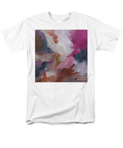 Men's T-Shirt  (Regular Fit) featuring the painting Musing124 by Elis Cooke