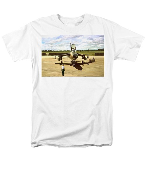 My Baby F-105 Men's T-Shirt  (Regular Fit) by Peter Chilelli