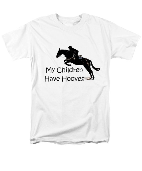 My Children Have Hooves Men's T-Shirt  (Regular Fit) by Patricia Barmatz