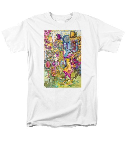 My Garden Men's T-Shirt  (Regular Fit) by Claudia Cole Meek