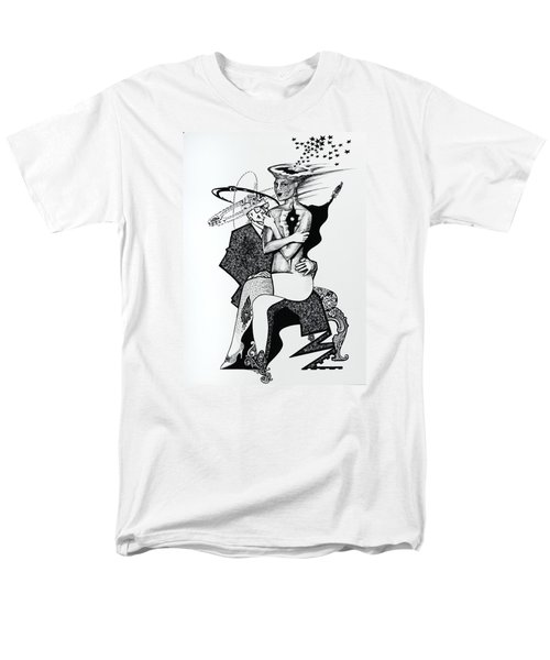 My Shadow And I Men's T-Shirt  (Regular Fit) by Yelena Tylkina