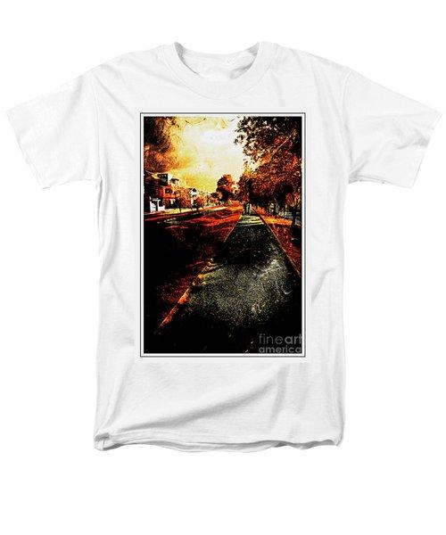My Neighborhood Men's T-Shirt  (Regular Fit) by Al Bourassa