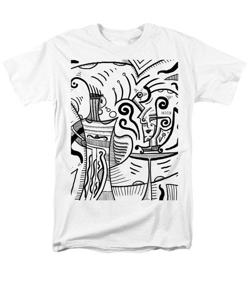 Mystical Powers Men's T-Shirt  (Regular Fit) by Sotuland Art