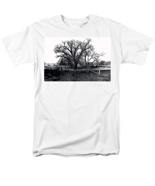 Naked Beauty Black And White Men's T-Shirt  (Regular Fit) by Renie Rutten