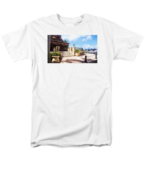 Naples Scenic Places Men's T-Shirt  (Regular Fit) by Rena Trepanier