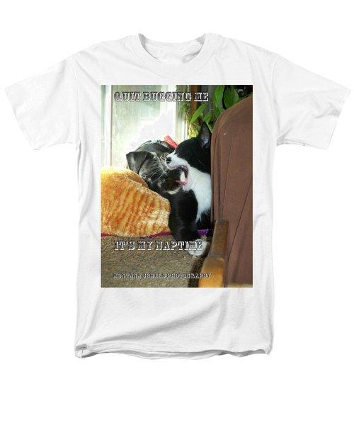 Naptime Men's T-Shirt  (Regular Fit) by Jewel Hengen