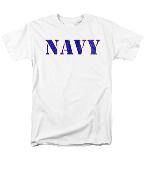 Navy Men's T-Shirt  (Regular Fit) by George Robinson