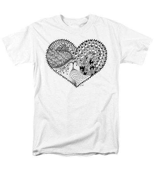 Men's T-Shirt  (Regular Fit) featuring the drawing New Beginning by Ana V Ramirez