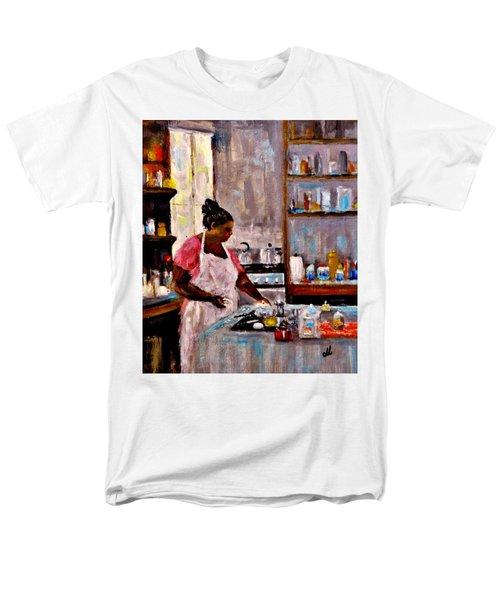 New Recipe.. Men's T-Shirt  (Regular Fit) by Cristina Mihailescu