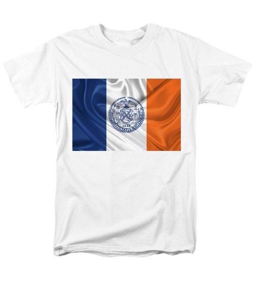 New York City - Nyc Flag Men's T-Shirt  (Regular Fit)