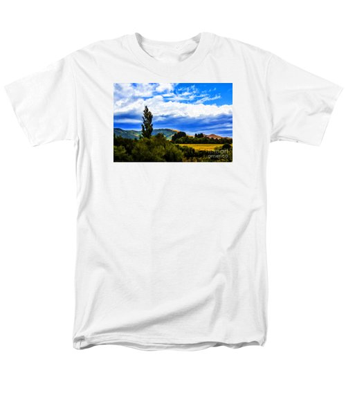 Men's T-Shirt  (Regular Fit) featuring the photograph New Zealand Legacy by Rick Bragan