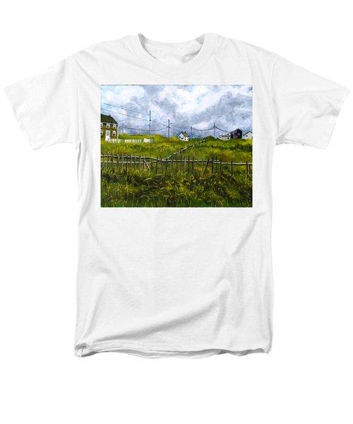 Newfoundland Jig Men's T-Shirt  (Regular Fit) by Diane Arlitt