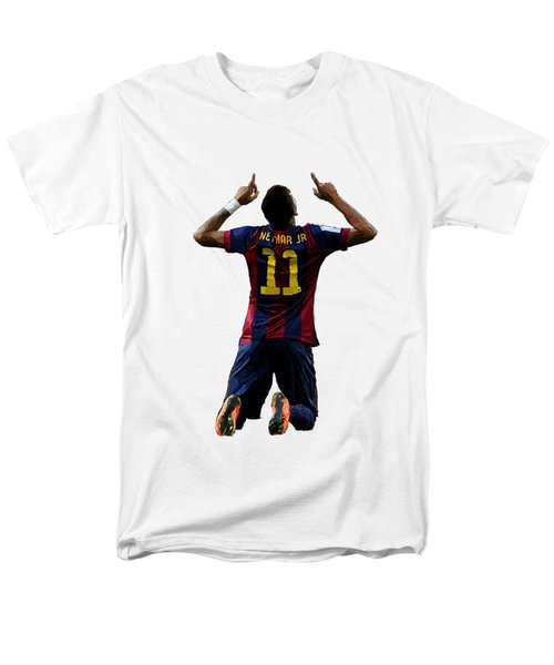Neymar Men's T-Shirt  (Regular Fit) by Armaan Sandhu