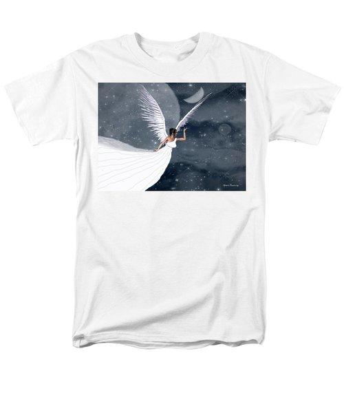 Night Angel Men's T-Shirt  (Regular Fit) by Rosalie Scanlon