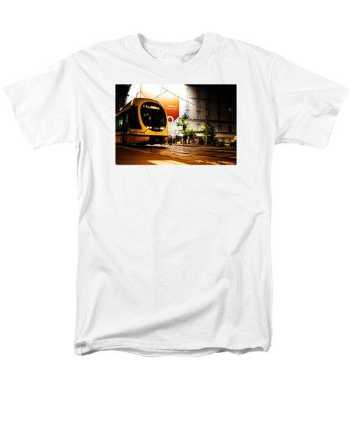 Night Walk In Milan Men's T-Shirt  (Regular Fit) by Cesare Bargiggia