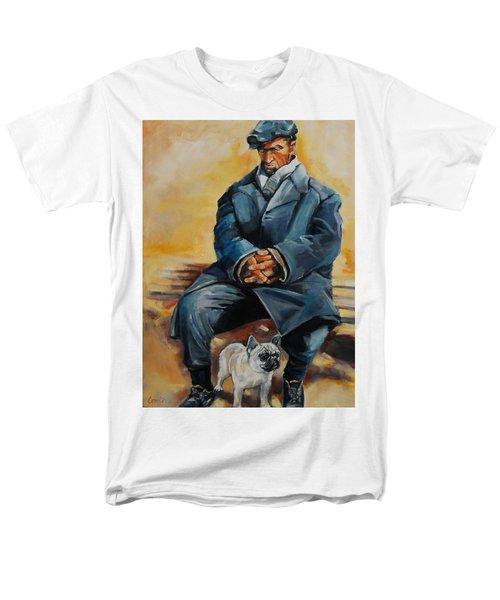 No Permanent Address Men's T-Shirt  (Regular Fit) by Jean Cormier