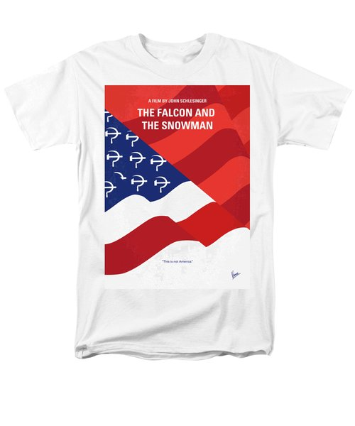Men's T-Shirt  (Regular Fit) featuring the digital art No749 My The Falcon And The Snowman Minimal Movie Poster by Chungkong Art