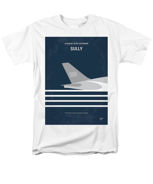 Men's T-Shirt  (Regular Fit) featuring the digital art No754 My Sully Minimal Movie Poster by Chungkong Art