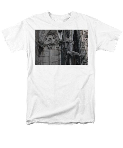 North Side Notre Dame Cathedral Men's T-Shirt  (Regular Fit) by Christopher Kirby