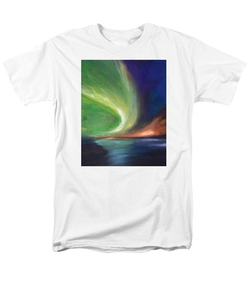 Northern Lights Men's T-Shirt  (Regular Fit)