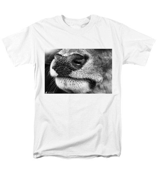 Nosy Nose  #monochrome #canon Men's T-Shirt  (Regular Fit) by Mandy Tabatt