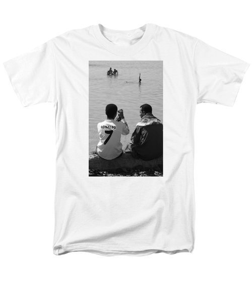Not Waving But Drowning Men's T-Shirt  (Regular Fit) by Jez C Self