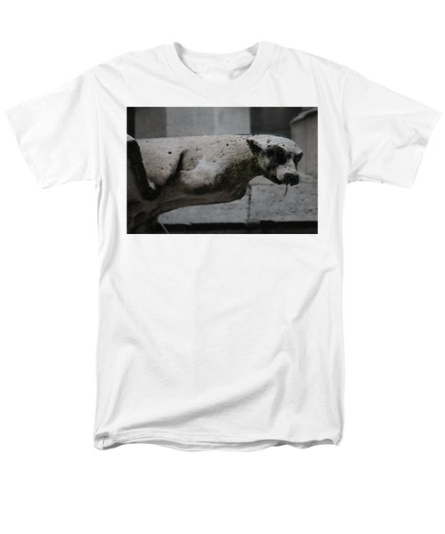 Notre Dame Bat Gargoyle Men's T-Shirt  (Regular Fit) by Christopher Kirby