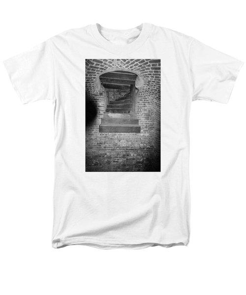 Nowhere Stair Men's T-Shirt  (Regular Fit) by Tammy Schneider