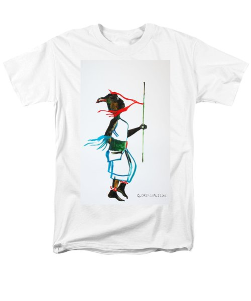 Nuer Dance - South Sudan Men's T-Shirt  (Regular Fit) by Gloria Ssali