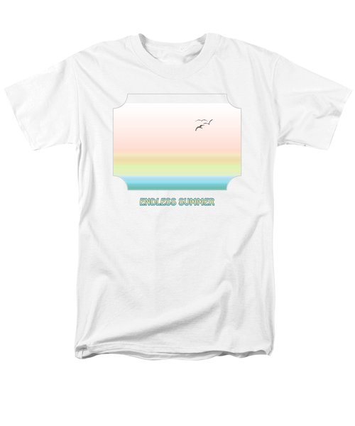 Endless Summer Men's T-Shirt  (Regular Fit) by Gill Billington