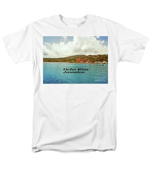 Ocho Rios Jamaica Men's T-Shirt  (Regular Fit) by Gary Wonning