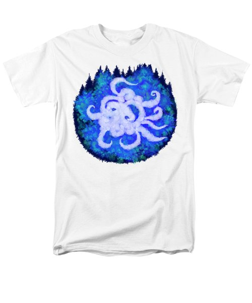 Octopus And Trees Men's T-Shirt  (Regular Fit) by Adria Trail