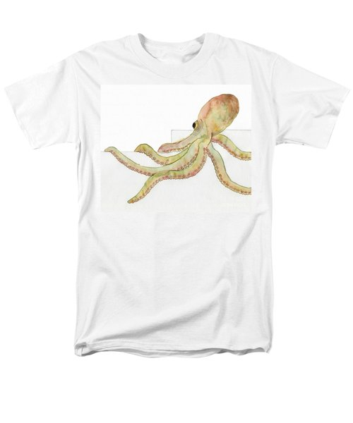 Octopus Men's T-Shirt  (Regular Fit) by Annemeet Hasidi- van der Leij