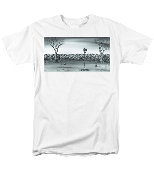 Men's T-Shirt  (Regular Fit) featuring the painting Odd Couple. by Kenneth Clarke