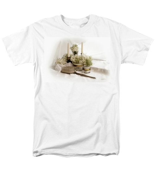 Men's T-Shirt  (Regular Fit) featuring the photograph Of Days Past by Ann Lauwers