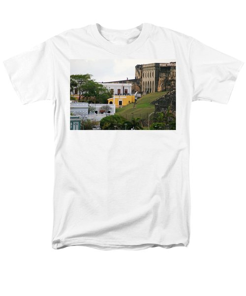 Men's T-Shirt  (Regular Fit) featuring the photograph Old And New by Lois Lepisto