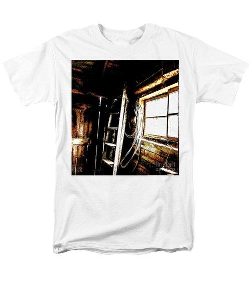 Old Barn Ladder Men's T-Shirt  (Regular Fit) by Deborah Nakano