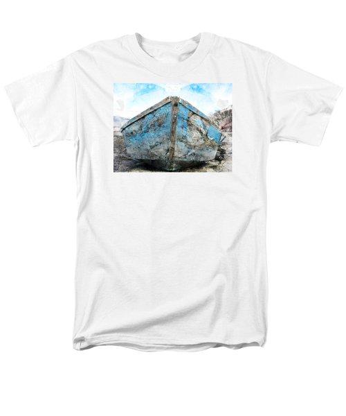 Old Blue # 2 Men's T-Shirt  (Regular Fit) by Ed Hall