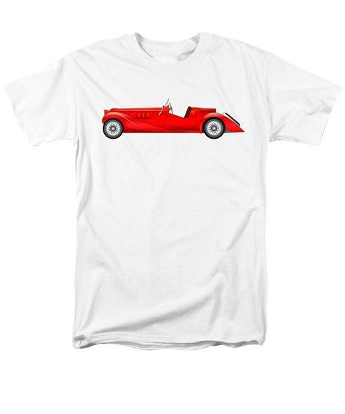 Men's T-Shirt  (Regular Fit) featuring the digital art Old Classic Race Car by Michal Boubin