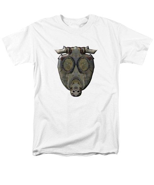Old Gas Mask Men's T-Shirt  (Regular Fit) by Michal Boubin