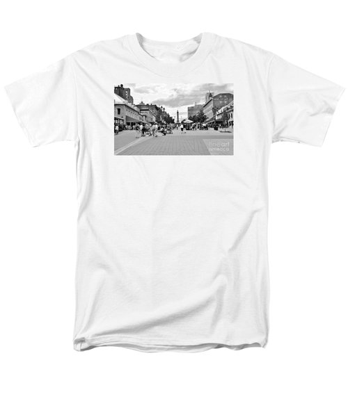 Old Montreal Jacques Cartier Square Men's T-Shirt  (Regular Fit) by Reb Frost