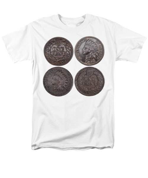 Men's T-Shirt  (Regular Fit) featuring the photograph Old Pennies 2016-1 by Thomas Young