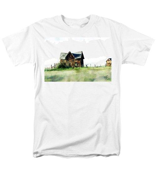 Old Sagging House Men's T-Shirt  (Regular Fit) by Debra Baldwin