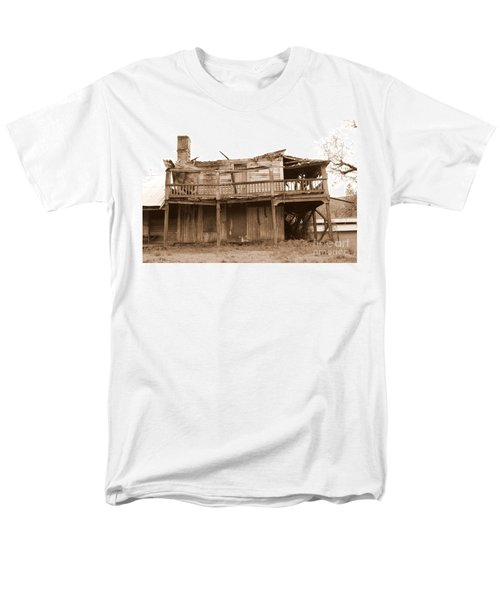 Old Stagecoach Stop Men's T-Shirt  (Regular Fit) by Marie Neder