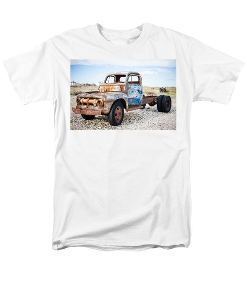 Men's T-Shirt  (Regular Fit) featuring the photograph Old Truck by Silvia Bruno